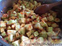 Фото приготовления рецепта: Кабачковая икра на зиму - шаг №9