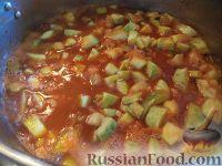 Фото приготовления рецепта: Кабачковая икра на зиму - шаг №10