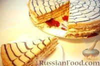 """Фото к рецепту: Торт """"Эстерхази"""" (Esterházy)"""