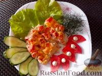 """Фото к рецепту: Рыба """"по-гречески"""""""