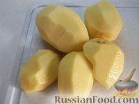 Фото приготовления рецепта: Суп из замороженных грибов - шаг №7