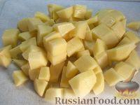 Фото приготовления рецепта: Суп из замороженных грибов - шаг №8