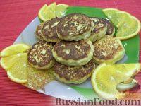 Фото к рецепту: Сырники с апельсиновым соком
