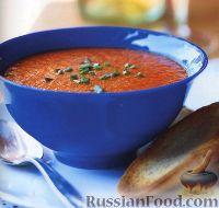 Фото к рецепту: Суп-пюре из жареного болгарского перца