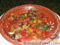 Фото к рецепту: Овощи на мангале