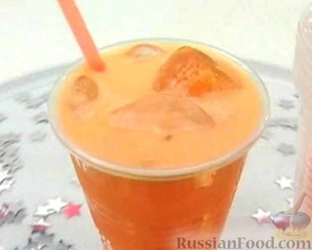 Рецепт Морковно-цитрусовый напиток с медом