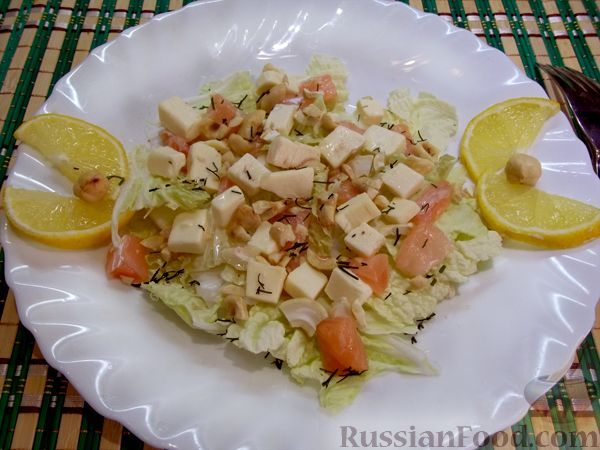 Рецепт Утренний салат на скорую руку