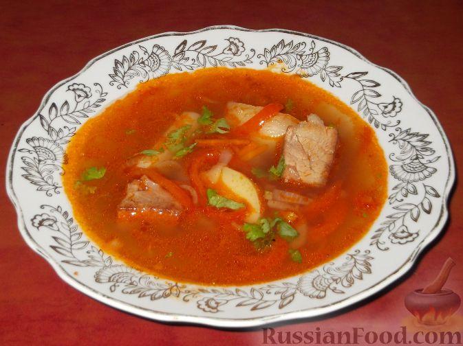 Рецепт Каурма-шурпа по-узбекски