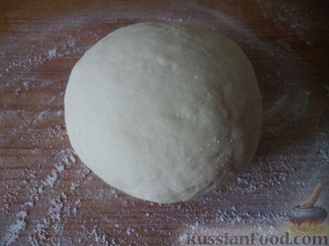 Фото приготовления рецепта: Суп картофельный с украинскими галушками - шаг №3