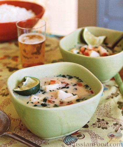 Рецепт Рыбный суп с рисом