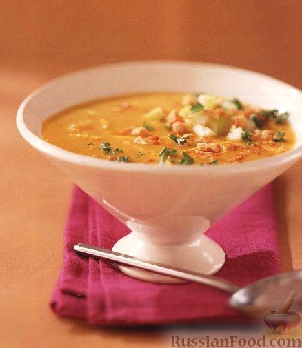 Рецепт Суп-пюре с индейкой