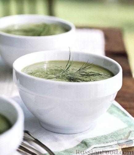 Рецепт Огуречный суп-пюре