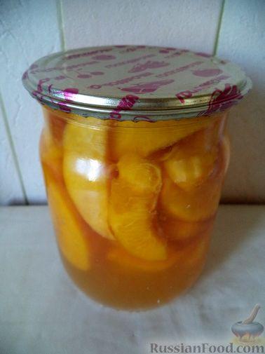Рецепт Варенье из персиков ( самый быстрый способ приготовления)