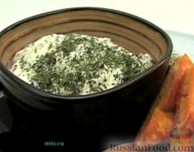 """Рецепт Мягкий сыр """"Лабне"""" из йогурта"""