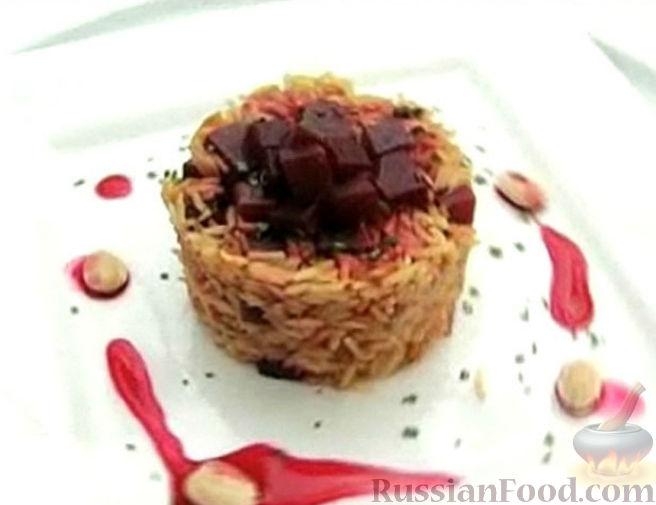 Рецепт Рис басмати со свеклой