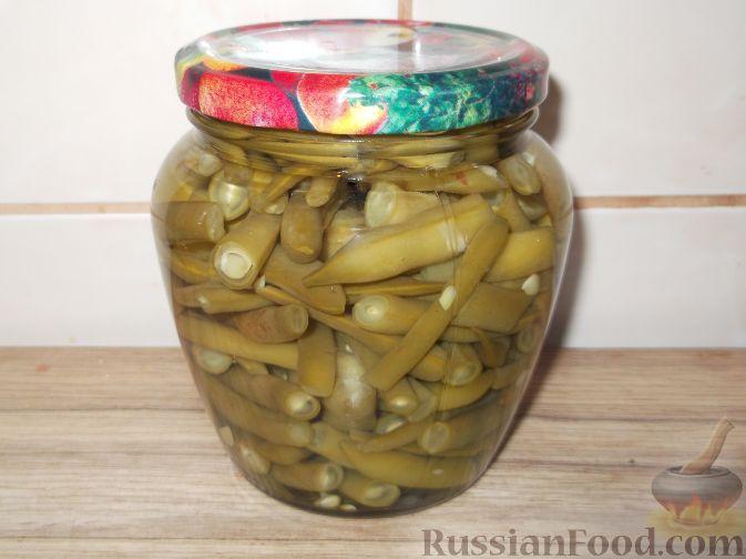 Рецепт Спаржевая фасоль натуральная консервированная