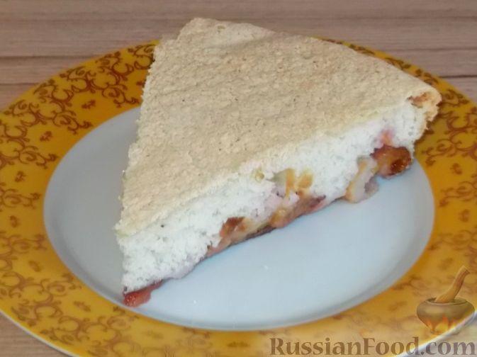 Рецепт Шарлотка со сливами