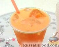 Фото к рецепту: Морковно-цитрусовый напиток с медом