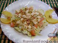 Фото к рецепту: Утренний салат на скорую руку