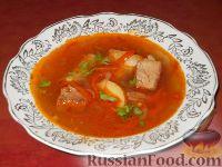 Фото приготовления рецепта: Каурма-шурпа по-узбекски - шаг №18