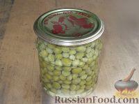 Фото к рецепту: Зеленый горошек консервированный. Способ 2