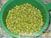 Фото приготовления рецепта: Зеленый горошек консервированный. Способ 2 - шаг №4