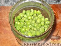 Фото приготовления рецепта: Зеленый горошек консервированный. Способ 2 - шаг №6