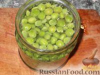 Фото приготовления рецепта: Зеленый горошек консервированный. Способ 2 - шаг №8
