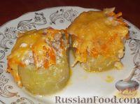 Фото к рецепту: Кабачки, фаршированные мясом