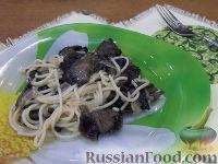 Фото к рецепту: Спагетти с грибами