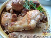 Фото приготовления рецепта: Окорочка, запеченные в духовке - шаг №7