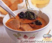 Фото к рецепту: Рыбный суп с помидорами и фенхелем