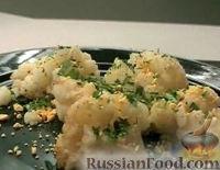 Фото к рецепту: Цветная капуста по-польски