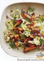 Фото к рецепту: Салат из батата и китайской капусты