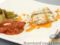 Фото к рецепту: Сибас, фаршированный фенхелем