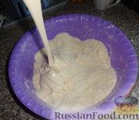 Фото приготовления рецепта: Наполеон (торт с кремом из сгущенки) - шаг №4