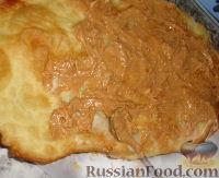 Фото приготовления рецепта: Наполеон (торт с кремом из сгущенки) - шаг №14