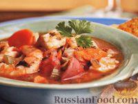 Фото к рецепту: Рагу из рыбы и креветок
