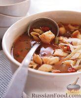 Фото к рецепту: Рагу из фасоли и палтуса с макаронами