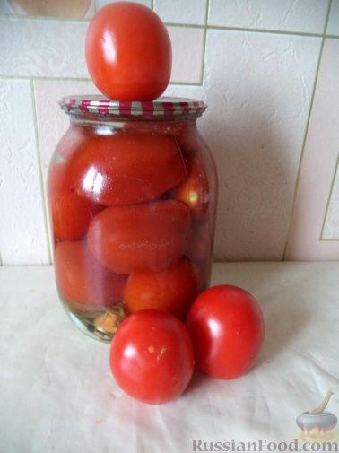 """Рецепт """"Пьяные"""" помидоры"""