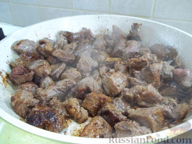 Фото приготовления рецепта: Свинина в горшочках - шаг №1