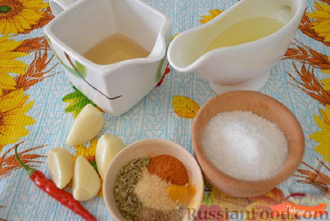 Фото приготовления рецепта: Маринованный перец со специями - шаг №2