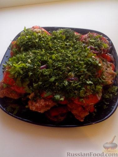 Рецепт Овощная смесь