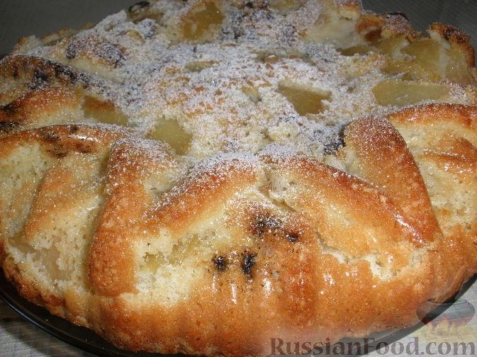Рецепт Быстрый пирог-шарлотка с яблоками
