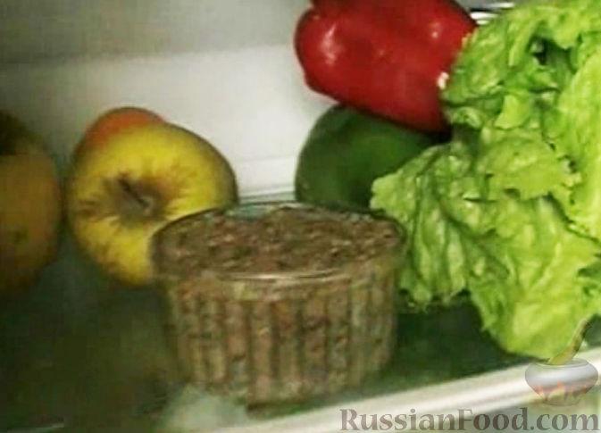 Фото приготовления рецепта: Баклажановый паштет - шаг №10