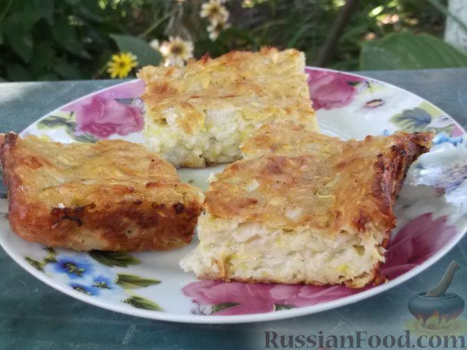 Рецепт Легкая запеканка из кабачков
