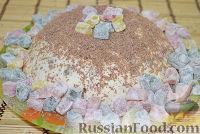 Фото к рецепту: Молочное желе с ягодами и печеньем