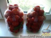Фото приготовления рецепта: Простой способ закатки помидоров-1 - шаг №7