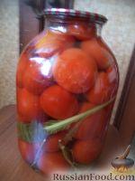Фото приготовления рецепта: Простой способ закатки помидоров-1 - шаг №8
