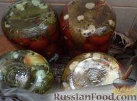 Фото приготовления рецепта: Простой способ закатки помидоров-1 - шаг №12